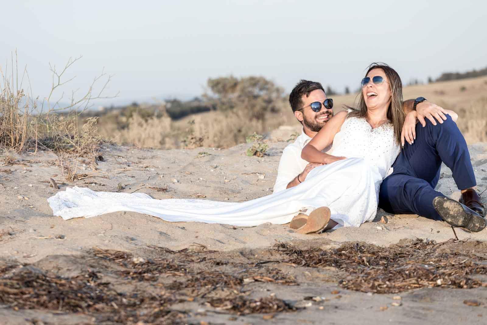 Φωτογράφιση Γάμου στην παραλία