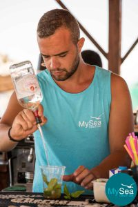 Mysea Beach Bar Bartender